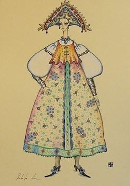 Obraz do salonu artysty Lena Subota pod tytułem Klaunessa