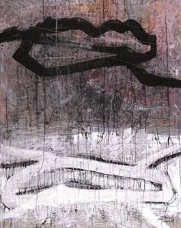 Obraz do salonu artysty Witold Popiel pod tytułem Zimowe światło
