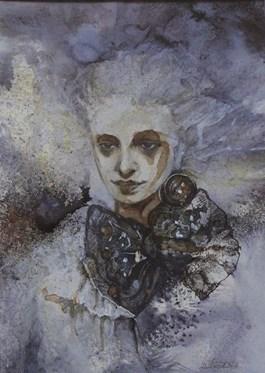 Obraz do salonu artysty Dorota Leniec-Lincow pod tytułem Hiszpanka