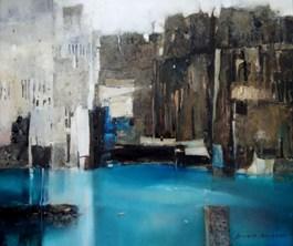 Obraz do salonu artysty Renata Bonczar pod tytułem Zatoka nadziei 3