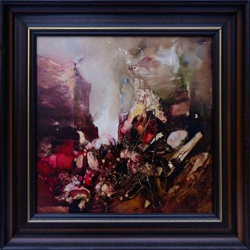 Obraz do salonu artysty Renata Bonczar pod tytułem Milczący Czas