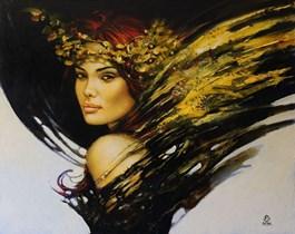Obraz do salonu artysty Karol Bąk pod tytułem Jesienna obietnica