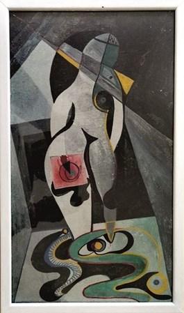 Obraz do salonu artysty Ewa Kuryluk pod tytułem Bez tytułu