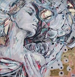 Obraz do salonu artysty SYLWIA KALINOWSKA pod tytułem Balansując ze Słońcem