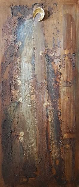 Obraz do salonu artysty MAŁGORZATA DAWIDIUK pod tytułem Ikona-cień