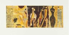Obraz do salonu artysty STANISŁAW WEJMAN pod tytułem Sextet