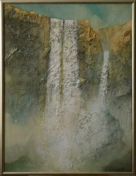 Obraz do salonu artysty KRZYSZTOF KONICZEK pod tytułem Wodospady Nadziei