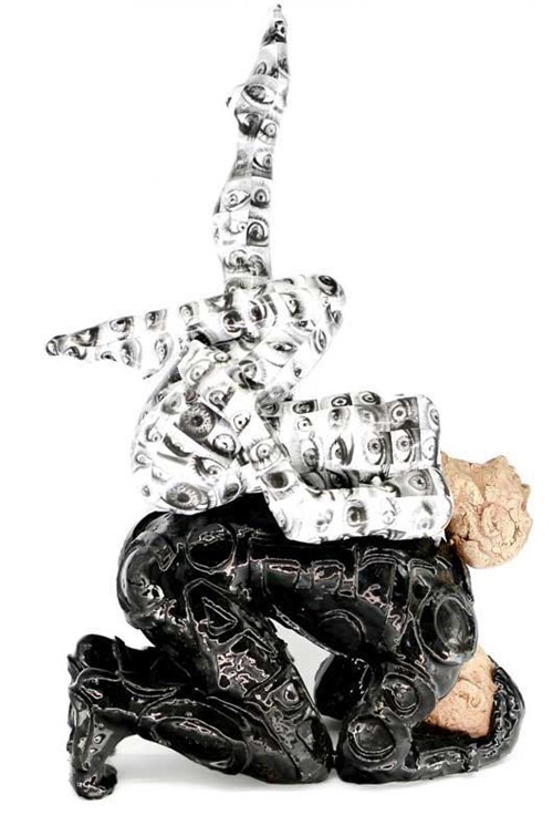 Rzeźba do salonu artysty Marek Zyga pod tytułem Impresja