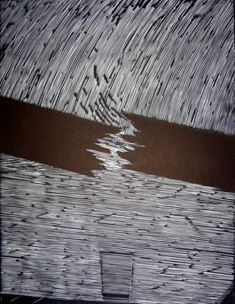 Obraz do salonu artysty Ryszard Gieryszewski pod tytułem Grafika do Koji Kamoji