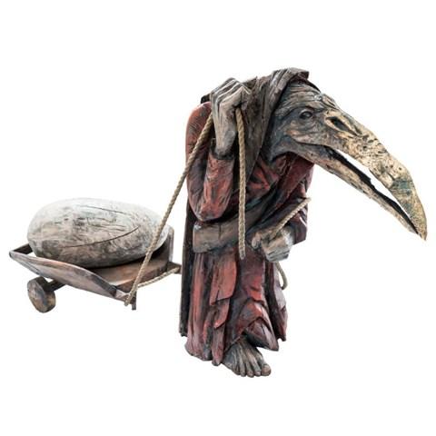 Rzeźba do salonu artysty Marcin Myśliwiec pod tytułem Powiernik