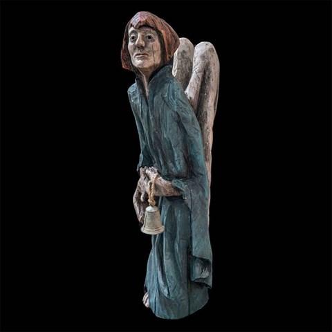 Rzeźba do salonu artysty Marcin Myśliwiec pod tytułem Anioł