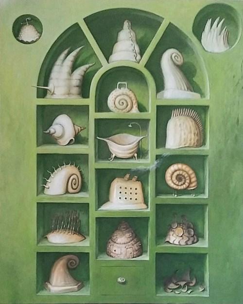 Obraz do salonu artysty Zbigniew Olszewski pod tytułem Silence