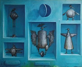 """Guardians of Turquoise (from """"Collections"""" series)"""