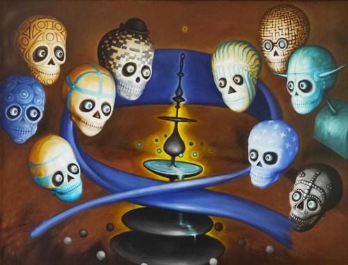 Obraz do salonu artysty Zbigniew Olszewski pod tytułem Fontanna