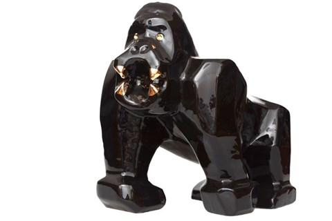 Rzeźba do salonu artysty Jakub Niewdana pod tytułem Goryl z serii Safari