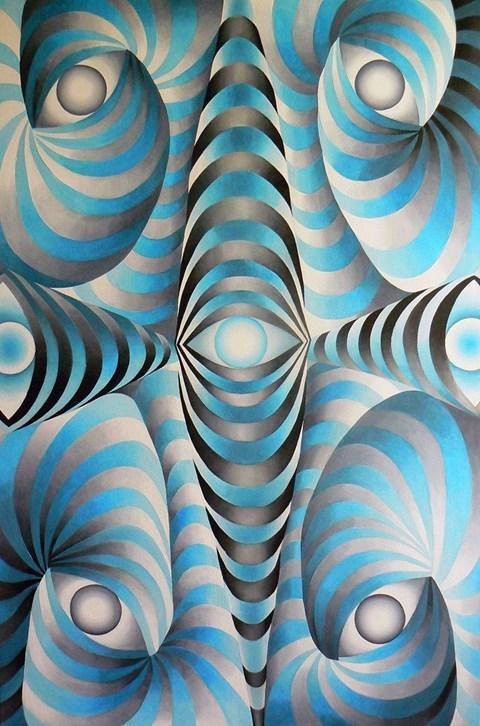 Obraz do salonu artysty Anna  Osiecka pod tytułem Oculi I