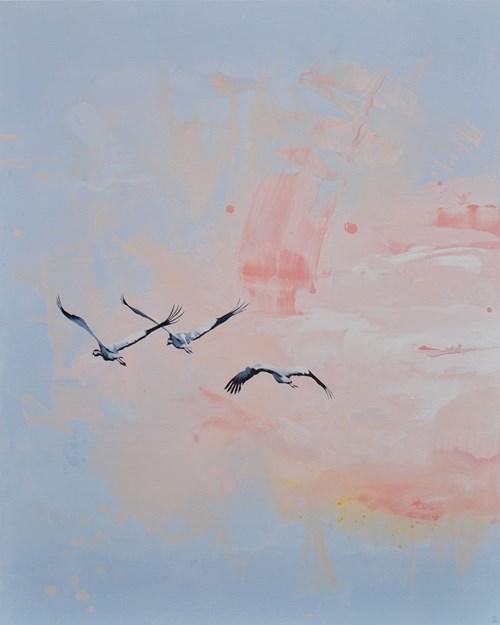 Obraz do salonu artysty Joanna Półkośnik pod tytułem W blasku wczesnego słońca