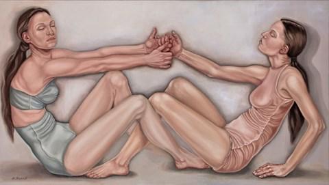 Obraz do salonu artysty Dorota Kuźnik pod tytułem Z cyklu Comme des garcons