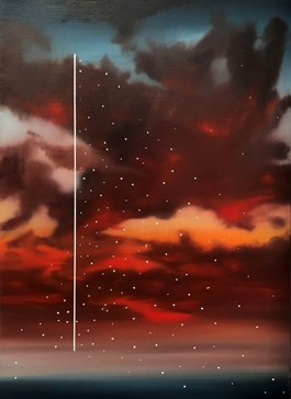 Obraz do salonu artysty Łukasz Patelczyk pod tytułem Granica