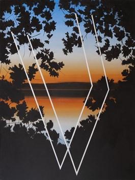 Obraz do salonu artysty Łukasz Patelczyk pod tytułem Borowno'19