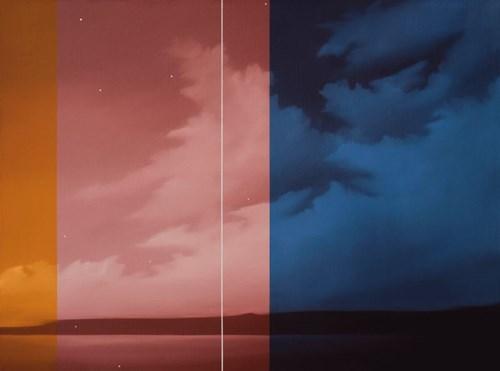 Obraz do salonu artysty Łukasz Patelczyk pod tytułem Kompozycja abstrakcyjna aa XXVII