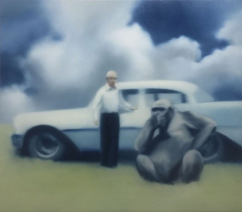 Obraz do salonu artysty Bartek Otocki pod tytułem Saudade