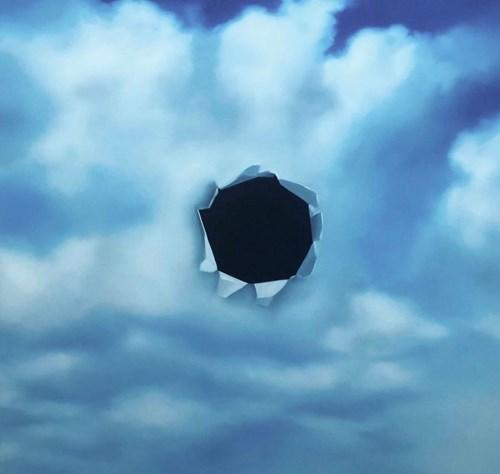 """Obraz do salonu artysty Bartek Otocki pod tytułem """"Bez tytułu"""" z cyklu Yang"""