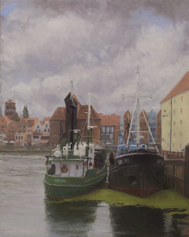 Old Harbour in Gdańsk