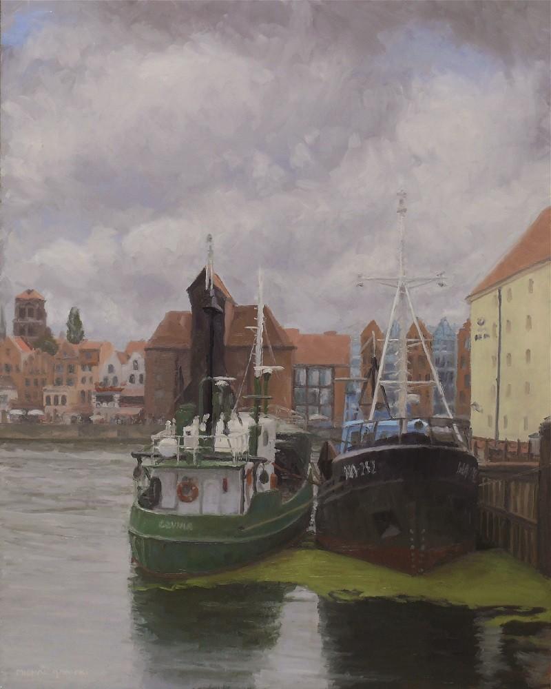 Old Harbour in Gdańsk