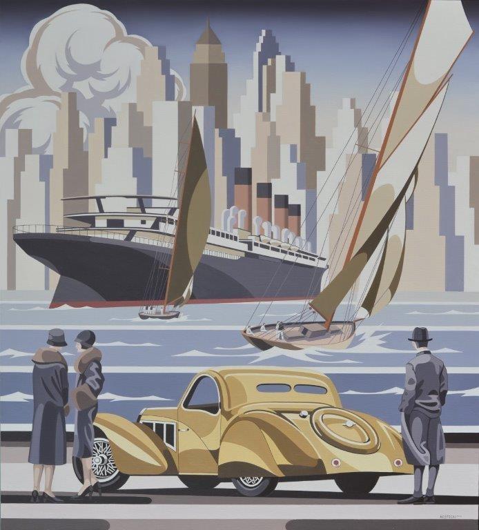 Żółte Bugatti