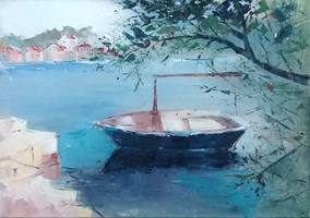 Obraz do salonu artysty Malwina  Cieślik pod tytułem Stomorska