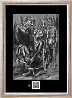 Obraz do salonu artysty Janusz Wieczorek pod tytułem Życie śmiercią, śmierć życiem