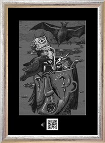 Obraz do salonu artysty Janusz Wieczorek pod tytułem Wyrobisko cieni