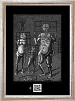 Obraz do salonu artysty Janusz Wieczorek pod tytułem HOMO ERECTUS