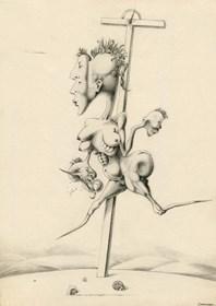 Obraz do salonu artysty Janusz Wieczorek pod tytułem Wenus z Cisnej