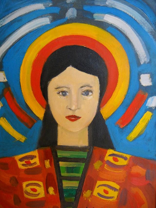 Obraz do salonu artysty Antoni Zaborowski pod tytułem Tancerka III