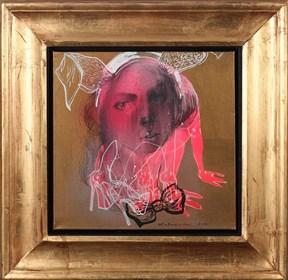 Obraz do salonu artysty Anna Halarewicz pod tytułem Portret 1
