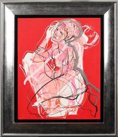 Obraz do salonu artysty Anna Halarewicz pod tytułem Portret 4