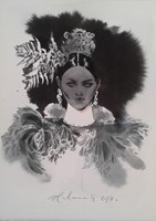 Obraz do salonu artysty Anna Halarewicz pod tytułem Portret 8