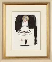 Obraz do salonu artysty Anna Halarewicz pod tytułem Kobieta 12