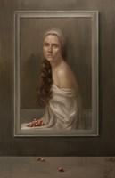 Obraz do salonu artysty Marzena Machaj pod tytułem Czerwone winogrona