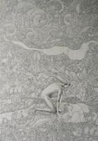 Obraz do salonu artysty Lech Pierchała pod tytułem Patientia I