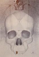 Obraz do salonu artysty Lech Pierchała pod tytułem Memento mori