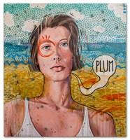 Obraz do salonu artysty Grzegorz Kufel pod tytułem Wakacyjne Plum