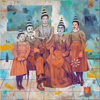 Obraz do salonu artysty Grzegorz Kufel pod tytułem Urodziny króla