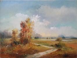 Obraz do salonu artysty Ryszard  Gbiorczyk pod tytułem Jesień