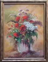 Obraz do salonu artysty Ryszard  Gbiorczyk pod tytułem Bukiet polny - lipiec