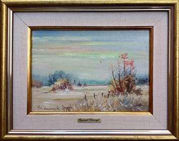 Obraz do salonu artysty Ryszard Gbiorczyk pod tytułem Zima