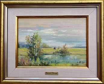 Obraz do salonu artysty Ryszard Gbiorczyk pod tytułem Łąka - lato
