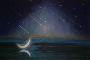 Obraz do salonu artysty Barbara Lis pod tytułem Iluminacje kwietniowe